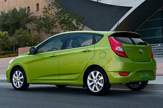 Hyundai Accent Hatchback II поколение-hyundai-accent-2012-hatchback-photos